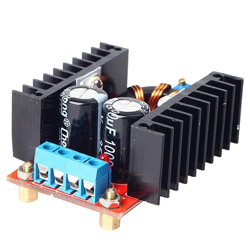 150W 10-32V In 12-35V Out 6A DC-DC Step Up Boost Converter Power Supply Module