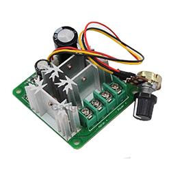15A 6V-90V Pulse Width Modulated PWM DC Motor Speed Controller / Regulator
