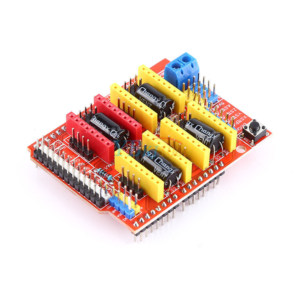 CNC Expansion Shield V3 for A4988 and DRV8825 Stepper Motor Drivers For Arduino Uno and Mega2560