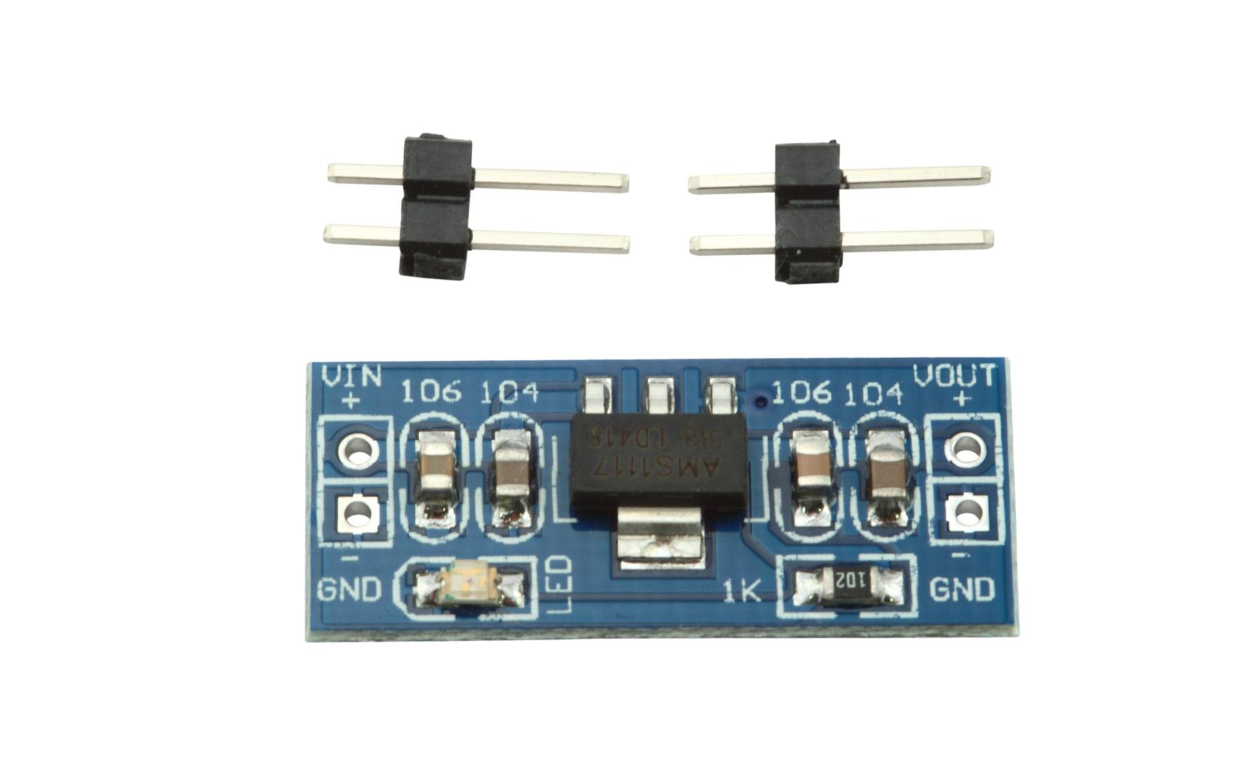 AMS1117 3.3V Out 4.5V to 12V In DC-DC Linear Voltage Regulator Module Datasheet