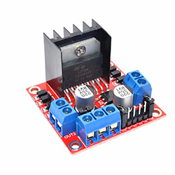 L298N Dual H Bridge DC Stepper Motor PWM Drive Controller