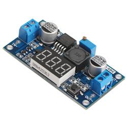 LM2596 4V-40V In 1.25V-37V Out LED Display 3A Buck Voltage Regulator