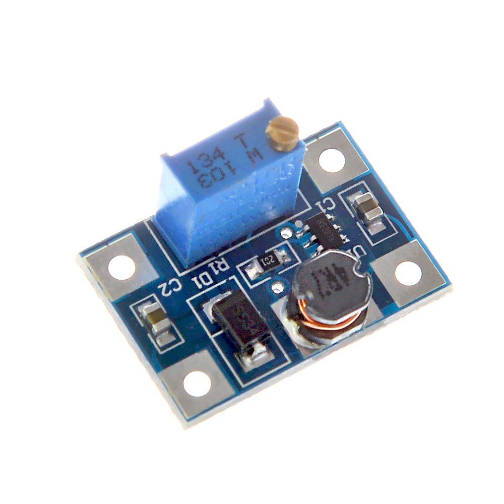SX1308 2-24V to 3-28V 2A DC-DC Step-up Boost Adjustable Voltage Converter Module