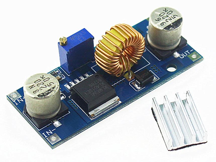 XL4015 5A 1.25V-36V DC-DC Step Down Buck Power Supply Module