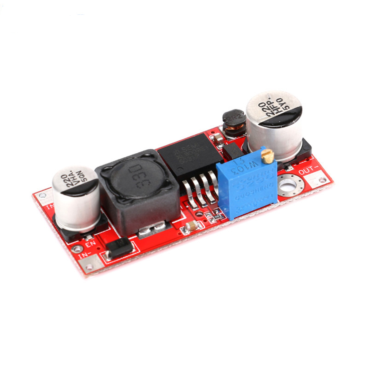 XL6009 DC-DC 5V to 48V Boost Step-Up Converter Power Supply Module