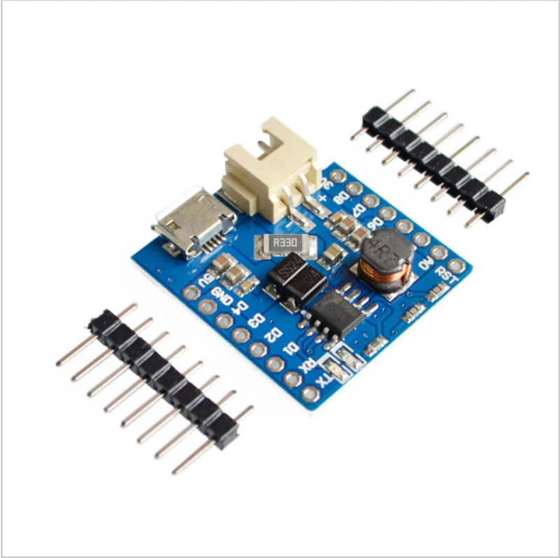 D1 Mini Single Lithium Charging and Boost Battery Shield WeMos