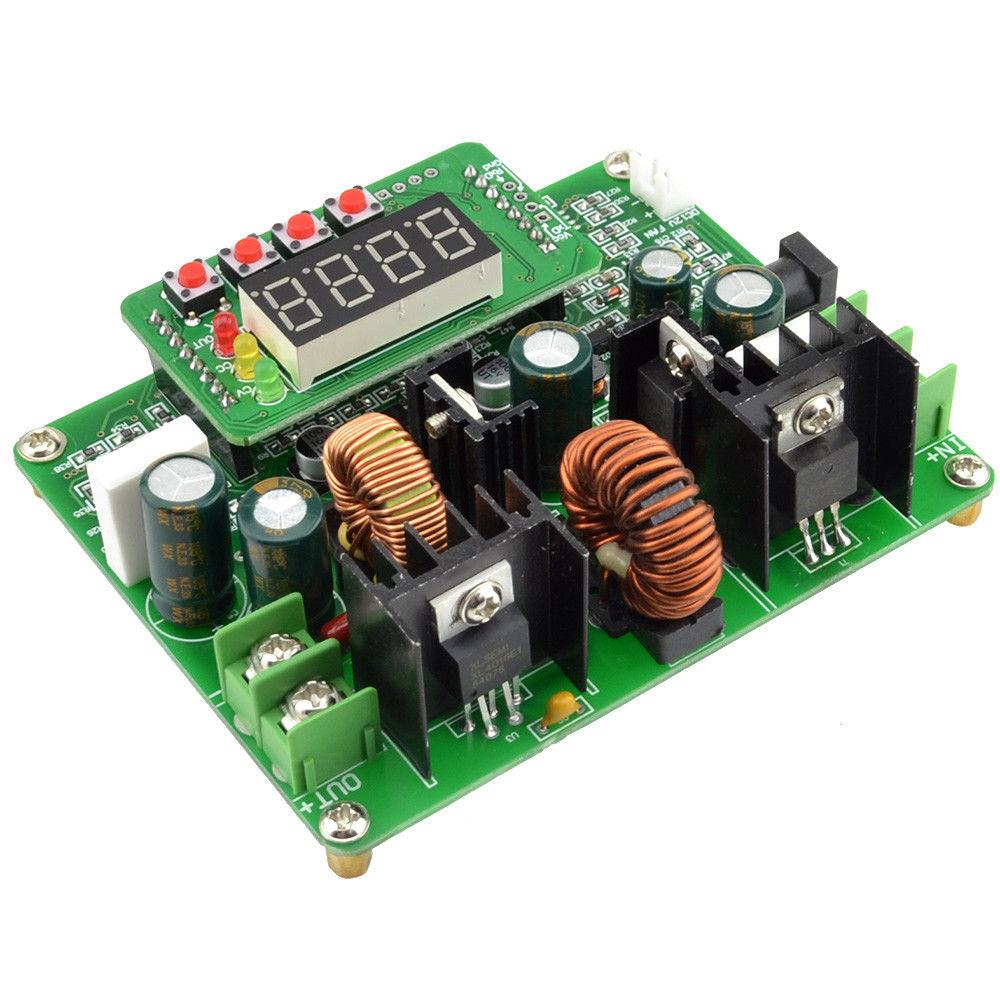 D3806 10-40VDC In 0-38VDC Out Step Up / Step Down Digital Control Boost/Buck CC/CV Power Converter Module Manufacturer's Datasheet