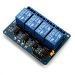 5V 10A 4 Channel Relay Module 250V/10A Relays