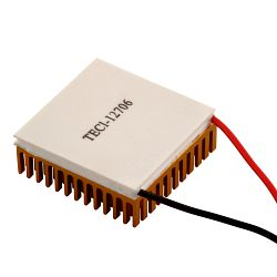 TEC1-12706 12V 60W Thermoelectric Peltier Cooler Module with Heatsink